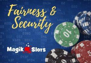 magik slots casino fairness and security