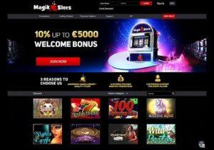 magik slots casino lobby